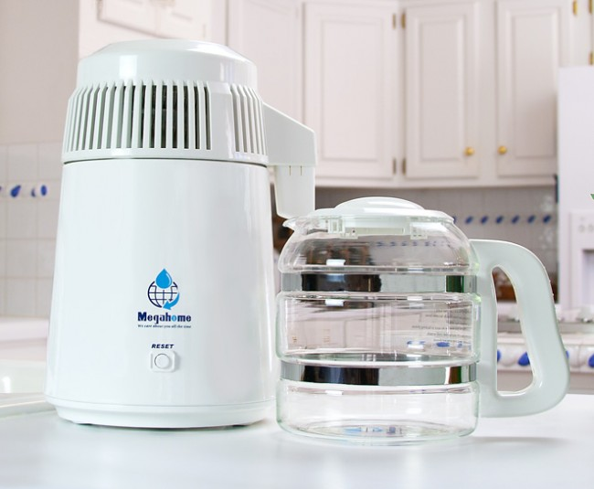 MH943TWS Megahome Water Distiller, Glass Collection